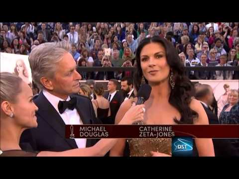 Michael Douglas And Catherine Zeta-Jones Red Carpet Interview 2013
