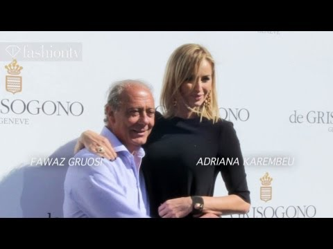 De Grisogono Photocall Cannes 2013 Ft. Adriana Karembeu, Victoria Silvstedt | Fashiontv video