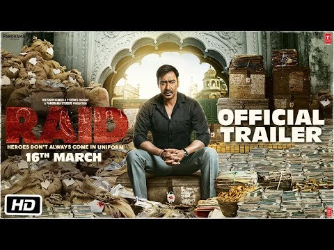 Raid Official Trailer 2018