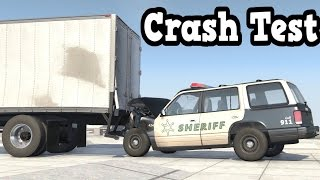 BeamNG Drive - Rear-Ending a Box Truck