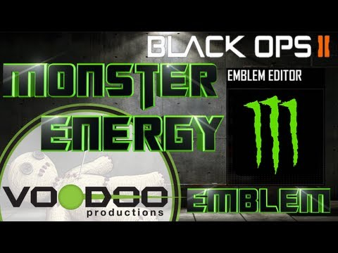 Monster Energy, Black Ops 2 Emblem Tutorial, Episode 1