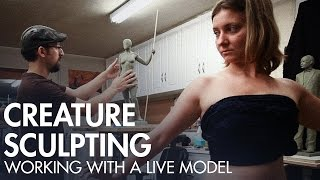 Creature Sculpting - Working with a Live Model - PREVIEW