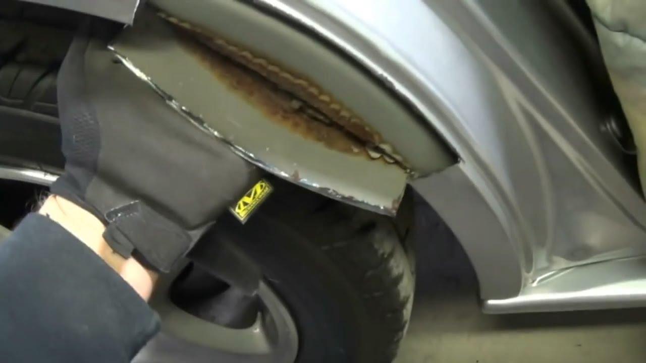 Как сделать ржавые двери на машине