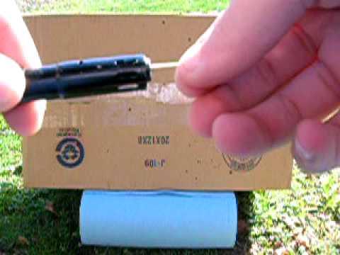how to build a mini potato gun