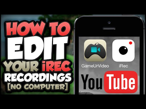 iREC: How To Record your iOS Screen Edit and Upload to YouTube...