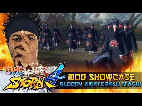 Bloody Amaterasu Itachi Uchiha!!! Naruto Shippuden Ultimate Ninja Storm 4 Mods w/ ShinoBeenTrill thumbnail