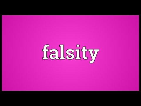 Header of falsity
