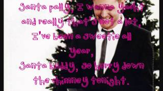 Michael Buble - Santa Baby - Lyrics