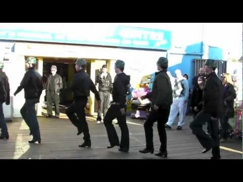 Blackpool pier army ambush