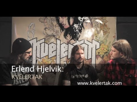 KVELERTAK Discuss How Norwegian Culture Influenced Their NEW Album 'Meir'!