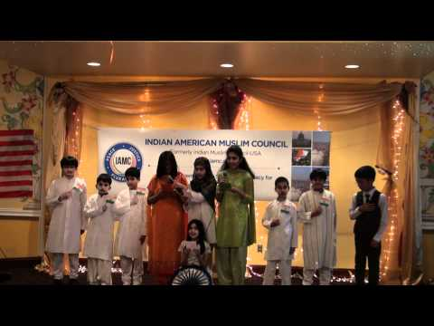 Children Singing Sare Jahan Se Acha.. At Iamc Republic Day Event video