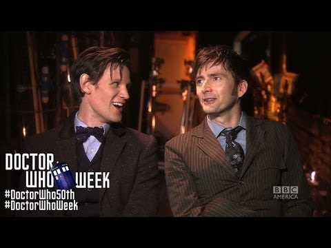 MATT SMITH & DAVID TENNANT Together, on the Honor of DOCTOR WHO - Exclusive 50th Anniversary Insider