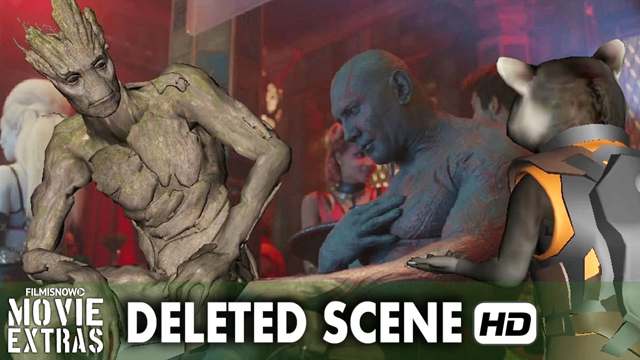 Guardians of The Galaxy (2014) Deleted Scene #3 - Drunk Drax on 'MCU: Phase 2' Box Set