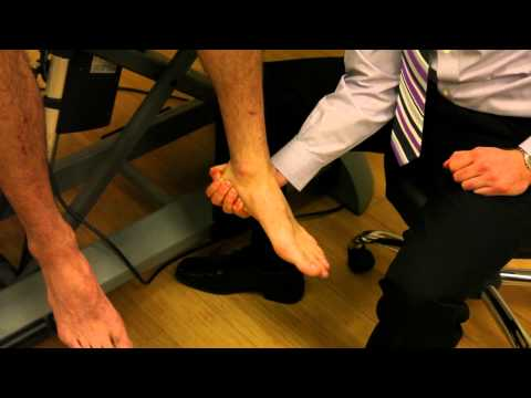 Sitting Exam: Forefoot Mobility on Rearfoot