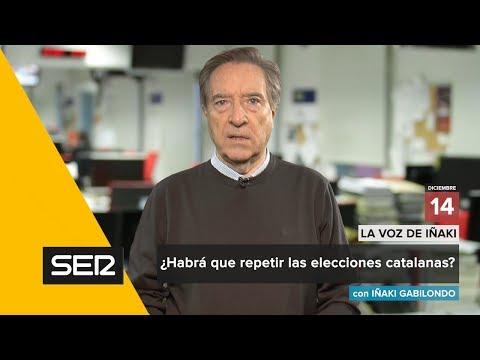 ¿Habrá que repetir las elecciones catalanas? | La Voz de Iñaki