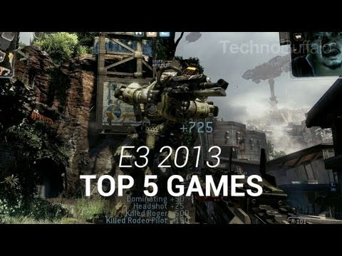 Top 5 Games from E3 2013
