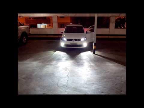 NOVO GOL G6  FAROL MILHA   NEBLINA COM XENÔN 6K MAIS PINGO DE 80 LED
