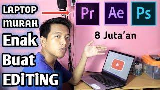 Laptop Murah Tapi Kenceng Buat Editing Video - Cocok Untuk Youtuber | Asus X505za