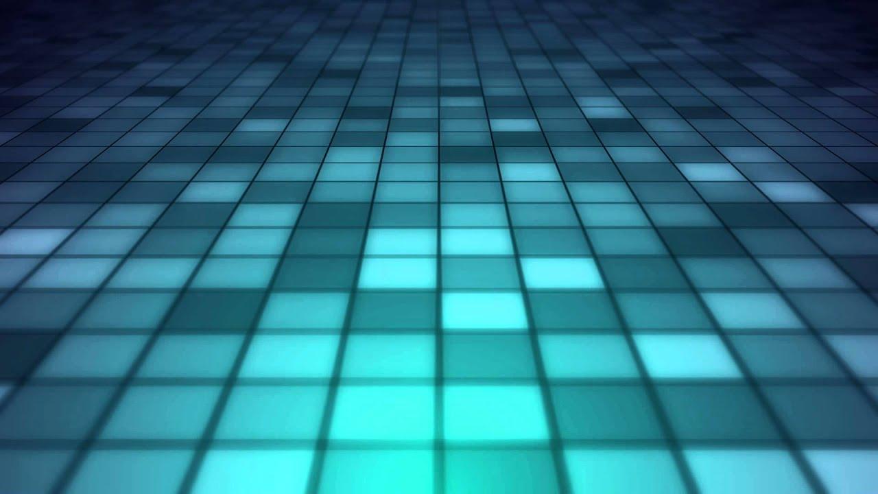 Blue Tile Floor Motion Graphics Background Loop Youtube