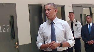 President Obama Visits the El Reno Federal Correctional Institution