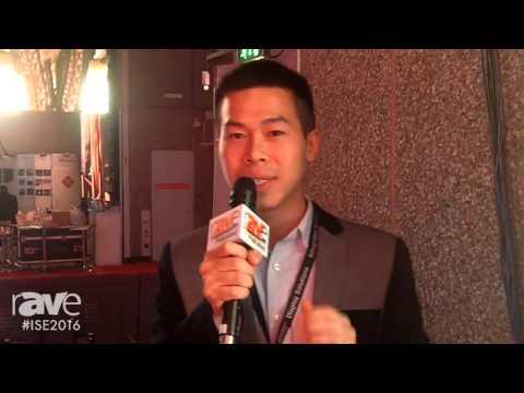 ISE 2016: Shenzhen Sage Opto Showcases LED Sign Board
