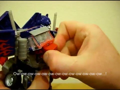 RotF Leader-class Optimus Prime review (Part 2) - CollectionDX