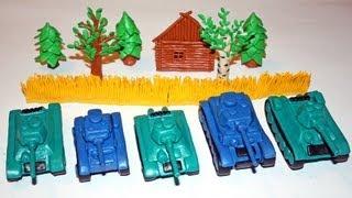 Как снять пластилиновый танковый мультфильм в стиле Stop-Motion