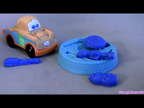 Cars 2 Play-Doh Mater's Undercover Mission Playset Review Buildable Toys Disney Pixar play doh toys