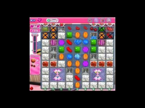 Candy Crush Saga :: Gameplay & Solution for Level 390 :: 3 Stars :: No Boosters