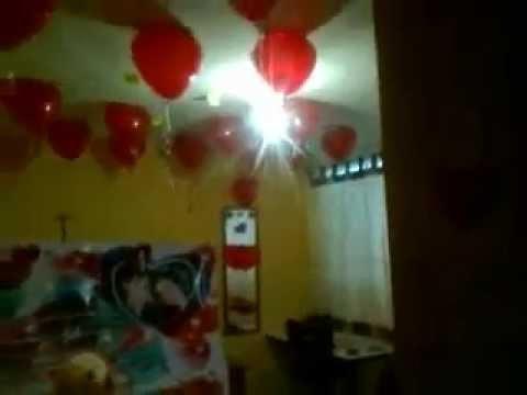 Sorpresa para mi novio youtube for Sorpresas para aniversario