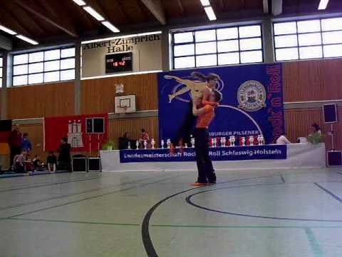 Laura Lükermann & Jonas Lükermann - Landesmeisterschaft Schleswig-Holstein 2011