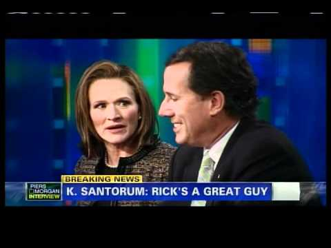 Rick & Karen Santorum on Piers Morgan
