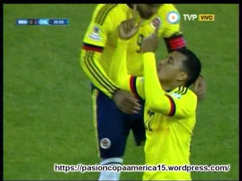 (Relator Brasilero)  Colombia 1 Brasil 0 (Radio Itatiaia )Copa America 2015