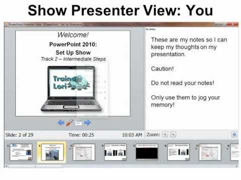 PowerPoint 2010 - Set Up Show