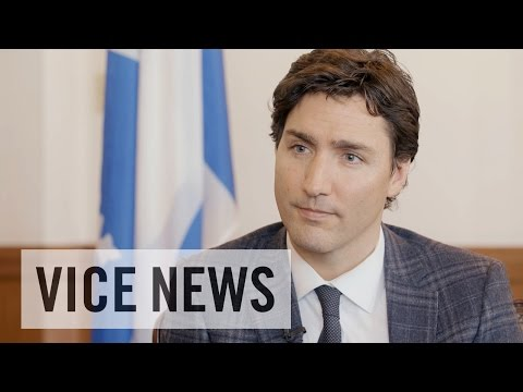 Shane Smith Interviews Justin Trudeau: The VICE News Interview