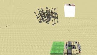 Minecraft Scattershot Cannon