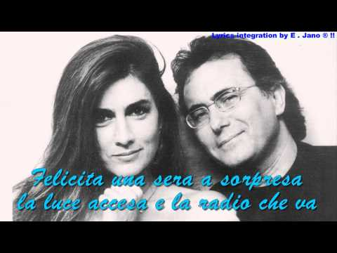 Albano Carrisi & Romina Power ~ FELICITA   With Lyric's[HD]