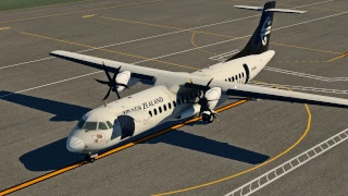 XP11 - MT COOK -ATR 72-500 - CHRISTCHURCH - WELLINGTON