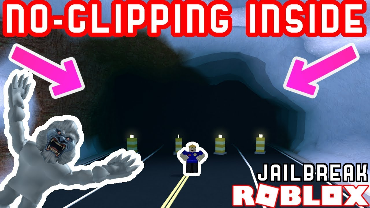 NO-CLIPPING INTO CLOSED ROAD TUNNEL! - Roblox Jailbreak Mythbusting
