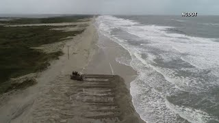 Florence leaves Outer Banks underwater