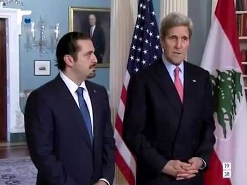 لقاء بين كيري والحريري في واشنطن