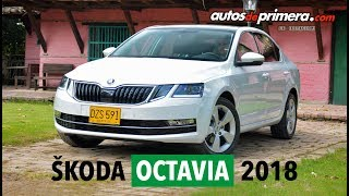Nuevo Skoda Octavia 2018 en Colombia - Muy confortable, equipado y potente