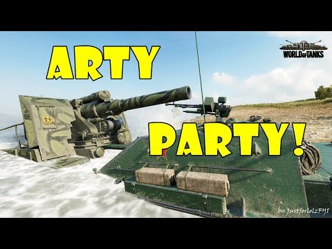 World of Tanks - Funny Moments | ARTY PARTY! #55
