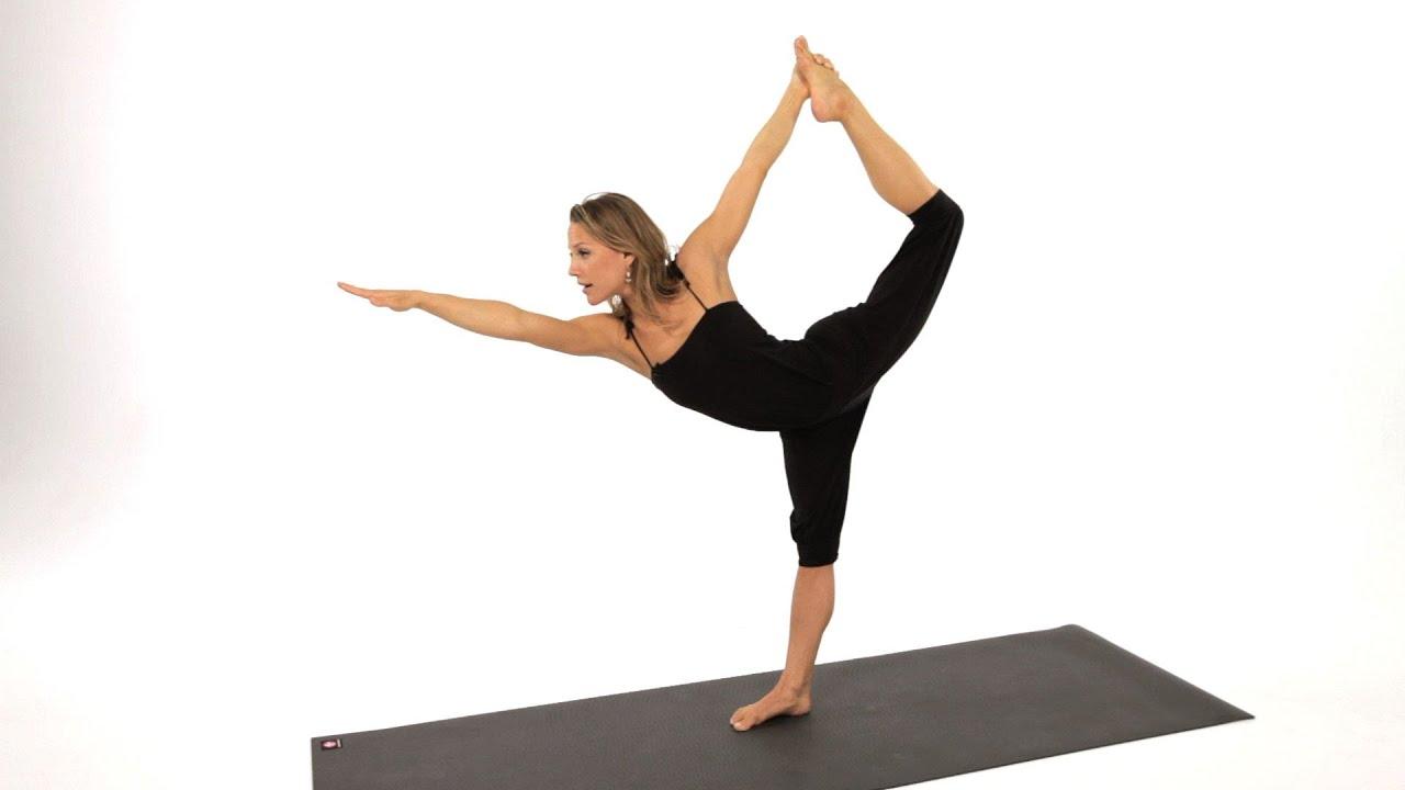 How to Do a Dancer's Pose | Yoga - YouTube  How to Do a Dan...