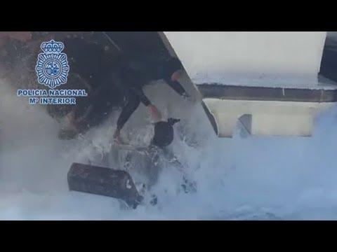 Stowaway: Man found hiding in engine of Spanish ferry