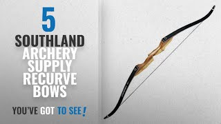 "Top 5 Southland Archery Supply Recurve Bows [2018]: Courage 60"" Takedown Recurve Archery Bow - Right"