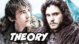 Game Of Thrones Season 6 Bran Stark Time Travel Theory