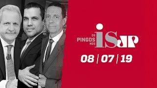 Os Pingos Nos Is - 08/07/19 - A licença de Moro / Bolsonaro no Maracanã / Números do Datafolha