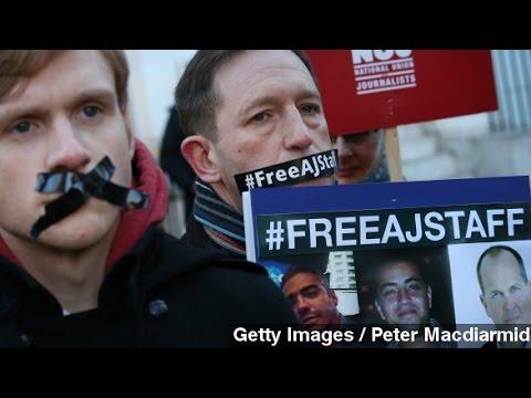 Egypt Orders Retrial Of Imprisoned Al Jazeera Journalists