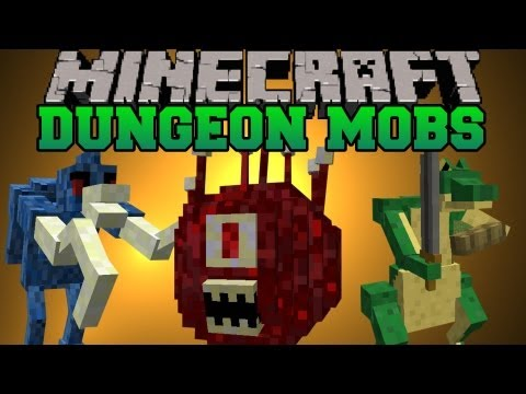 Minecraft Mod Showcase - Dungeon Mobs Mod - Mod Review